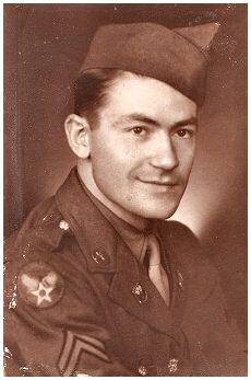 Terry's Father Paul as a young Army spy